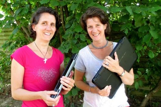 Nathalie Grison et Caroline Augarde