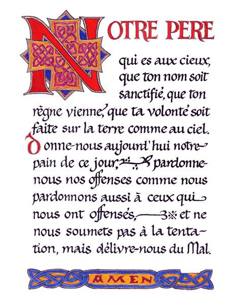 Notre Père Chanté Nouvelle Version : notre, père, chanté, nouvelle, version, Paroisse, Catholique, Saint, Genis, Laval