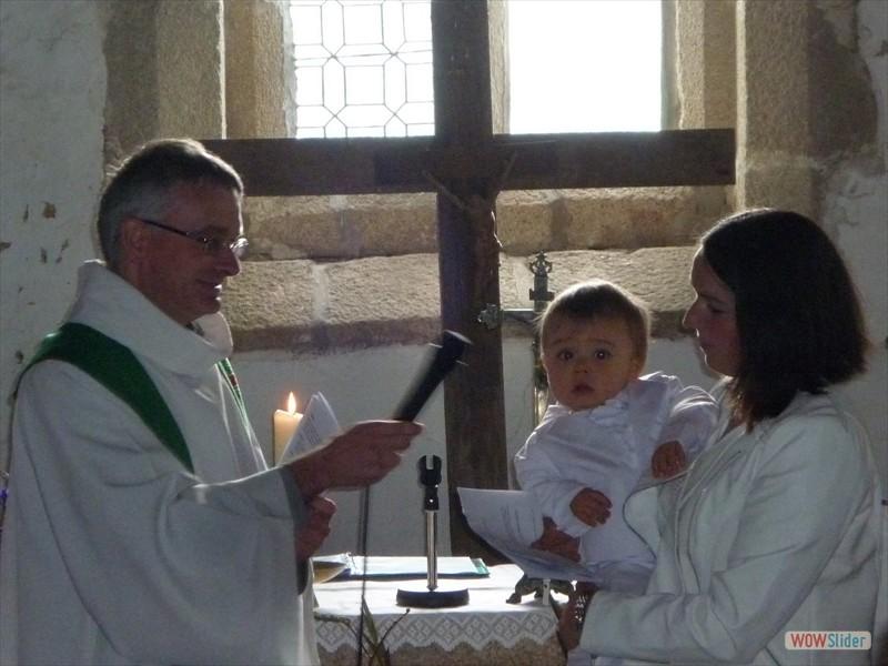 Le baptême de Mathis
