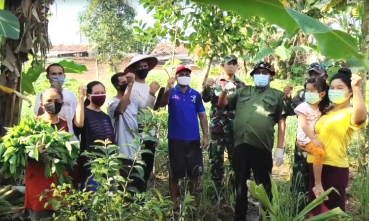 Rm. Felix Supranto, SS.CC – Liputan Usaha Ketahanan Pangan Diantara Umat Gereja St. Odilia