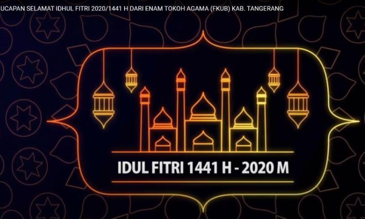 Tokoh Agama FKUB Kab. Tangerang Mengucapkan Selamat Idul Fitri