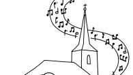 Nous devions animer la messe avec Charlotte et d'autres jeunesde la paroisse à l'occasion des professions de foi.