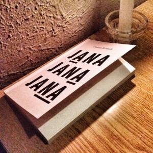 Christian Bernhardt's book «JANA JANA JANA» published by Textem Verlag