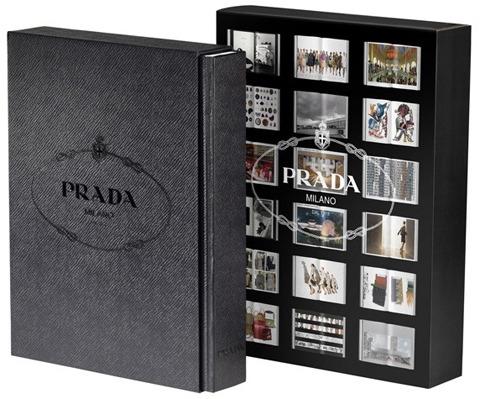 PRADA- Le livre édité par Prada Progetto Arte disponible dans les stores Prada