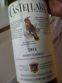 Degustazione: Chianti Classico 2011, Castellare di Castellina