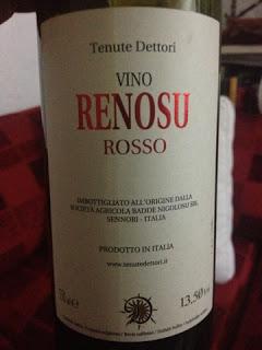 Degustazione: Renosu Rosso, Dettori