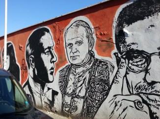 Rodolfo Valentino, Karol Wojtyla, JB Rock, Wall of Fame