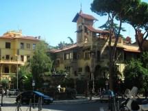 Villetta delle fate, Piazza Mincio, quartiere Coppedè