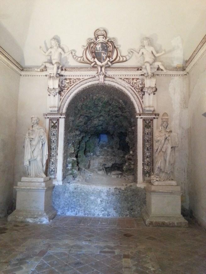 Grotta, stanza di Venere, Villa d'Este