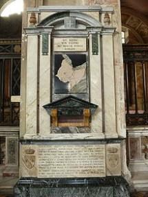tomba di Eugenio Ruspoli in Santa Maria all'Ara Coeli