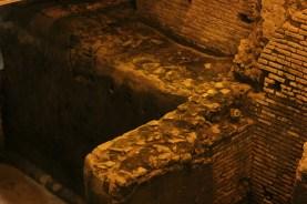 Mura perimetrali del sebatoio o castellum acquae, città dell'acqua