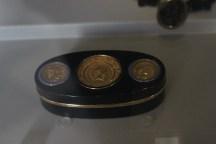 tabacchiera con tre aurei, museo napoleonico