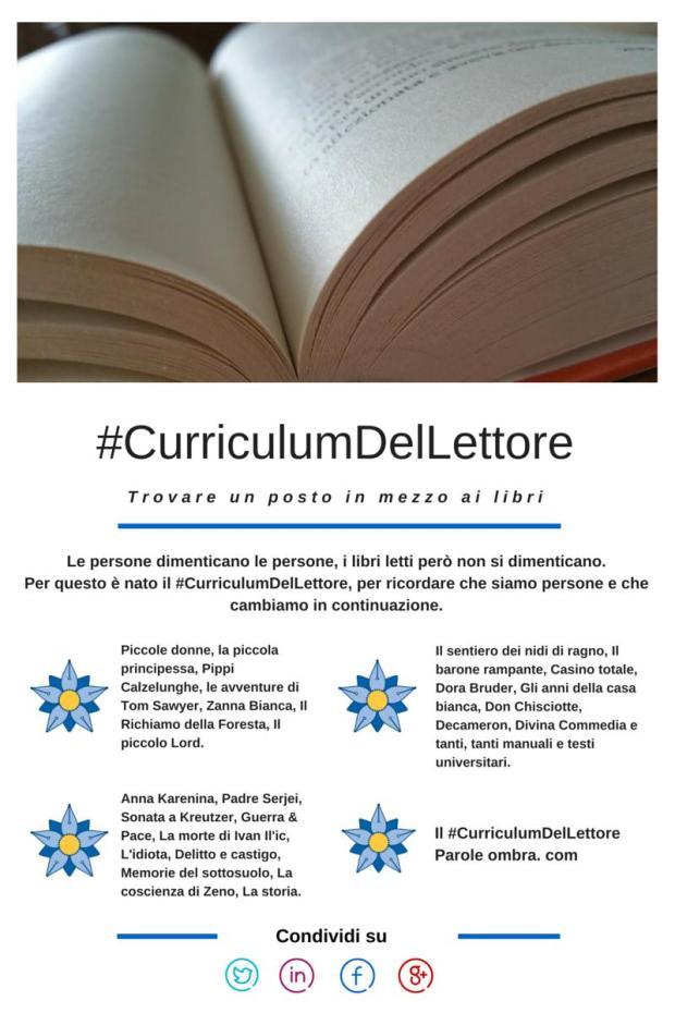 #CurriculumDelLettore con Canva