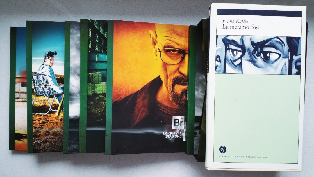 Breaking Bad è la metamorfosi di Kafka