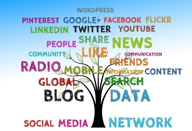 La scoperta dei social e di altri blogger