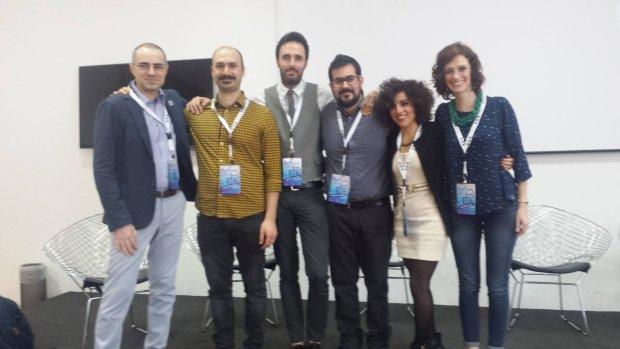 I relatori di #websucarta al DoLab School di Roma