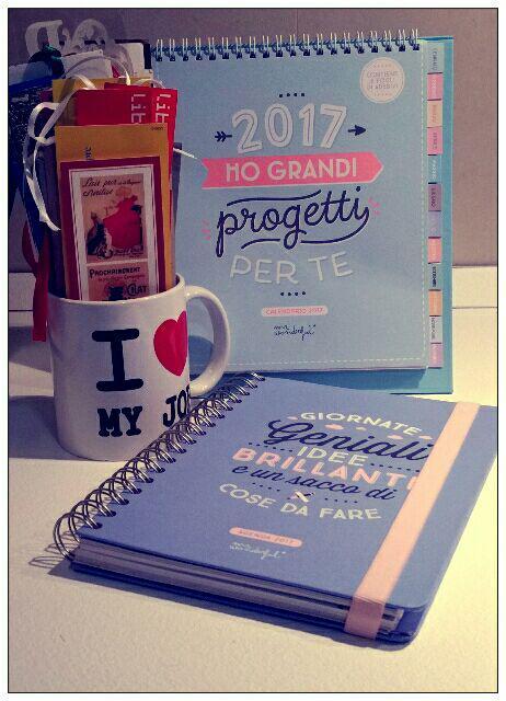 Agenda e calendario Mr Wonderful