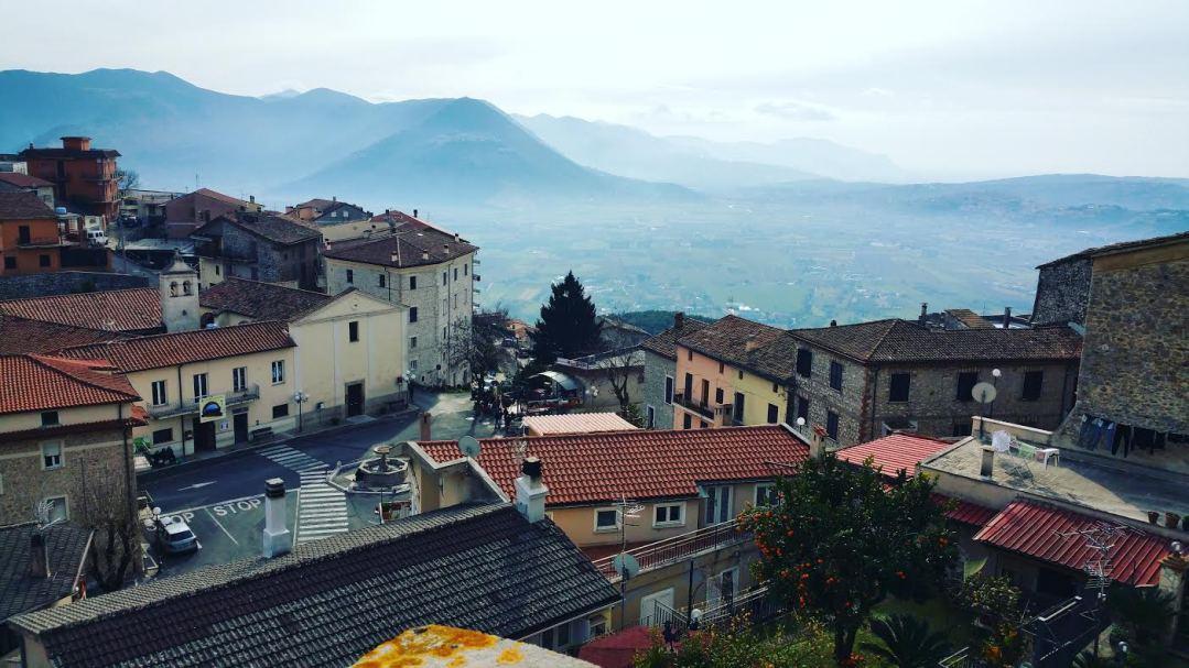 Maenza: panorama