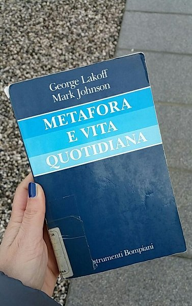 Metafora e vita quotidiana, Lakoff - Johnson, Bompiani