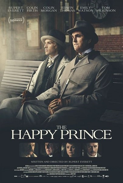 The Happy Prince locandina (immagine via Pinterest)
