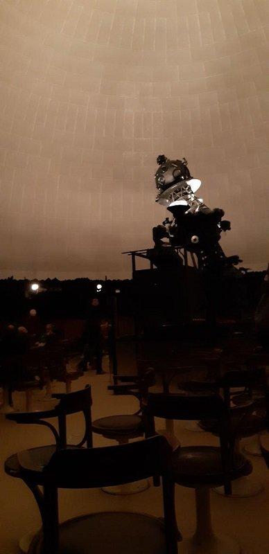 Planetario di Milano, interno