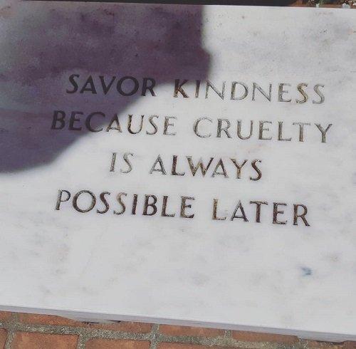 gentilezza o cortesia o entrambe?