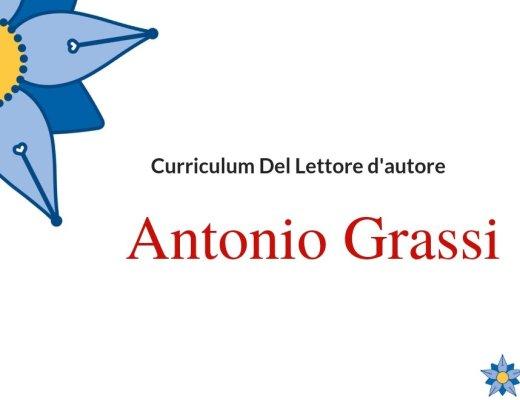 Curriculum del lettore di Antonio Grassi: autore di Scarpe scarlatte