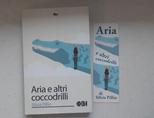 Aria e altri coccodrilli di Silvia Pillin: al di là della copertina