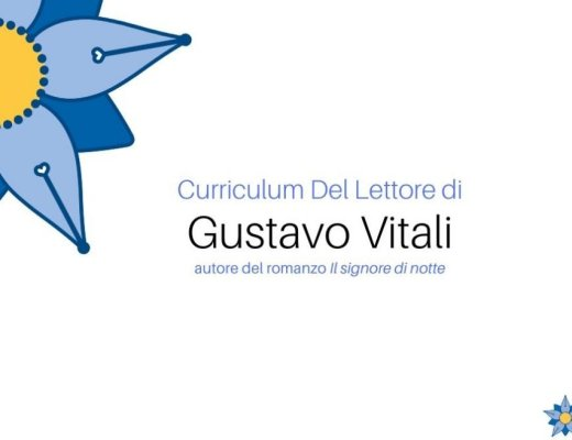 Curriculum del Lettore di Gustavo Vitali, autore de Il signore di notte
