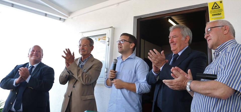 Inauguração do Pátio das Oliveiras, após obras de requalificação !