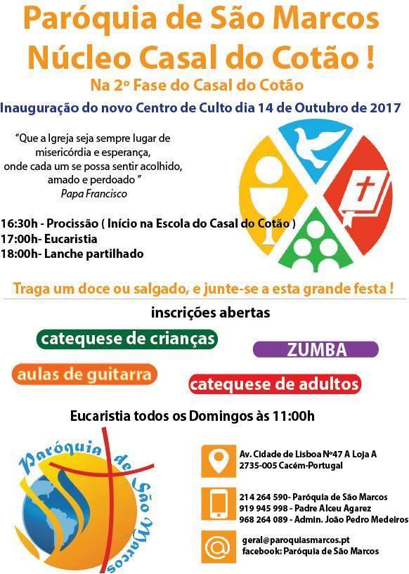 Inauguração das novas instalações do Núcleo Casal do Cotão