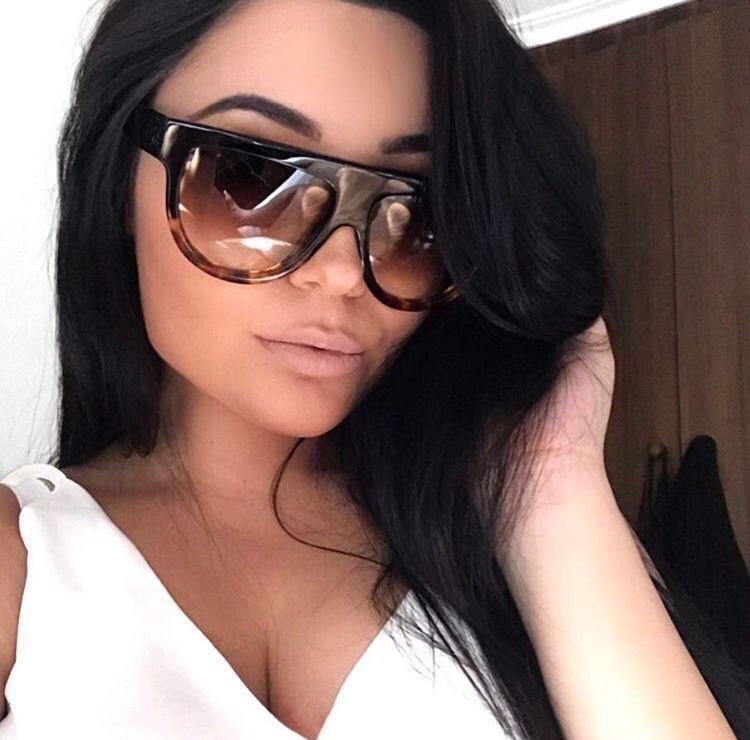 Evelin leopárd mintás női napszemüveg