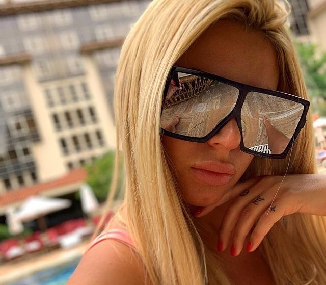 Lea oversized tükrös női napszemüveg