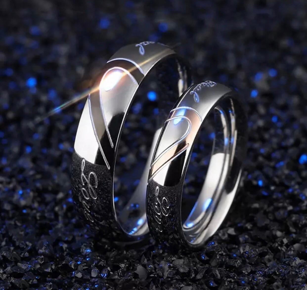 Real Love nemesacél rosegold női gyűrű