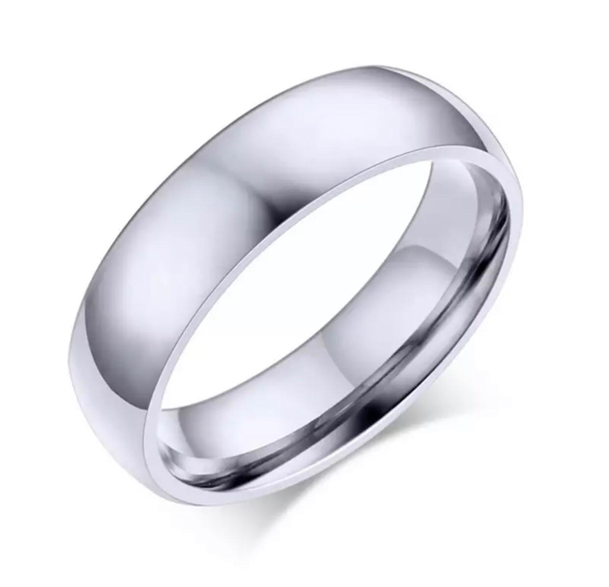 Dalma ezüst színű nemesacél férfi gyűrű
