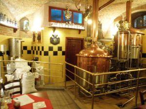 St. Florian brewery in Loket