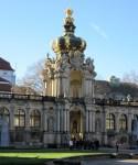 Crown gate orangery Zwinger Dresden