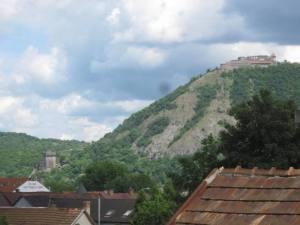 Hungarian castle along Duna