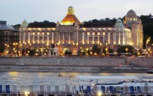 Gellert spa, Budapest