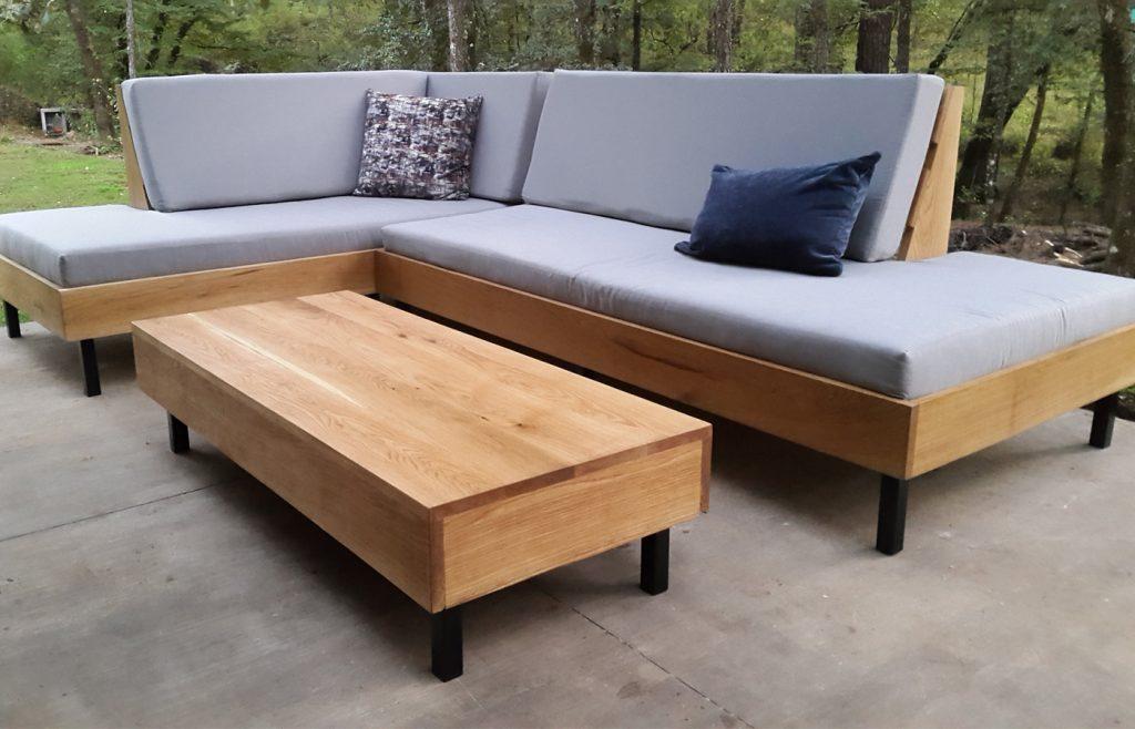 wooden outdoor furniture custom