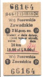 Bilety PKP gminy Kolonowskie (3)