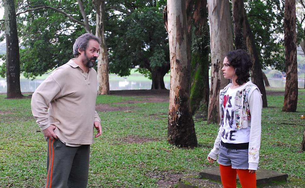 """Daniel Dantas e Maria Flor, na série """"Aline"""" (2009-11), da Globo. Divulgação TV/Globo"""
