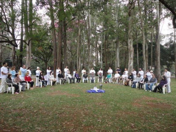 6º Reiki pela Paz no Planeta acontece no Ibirapuera