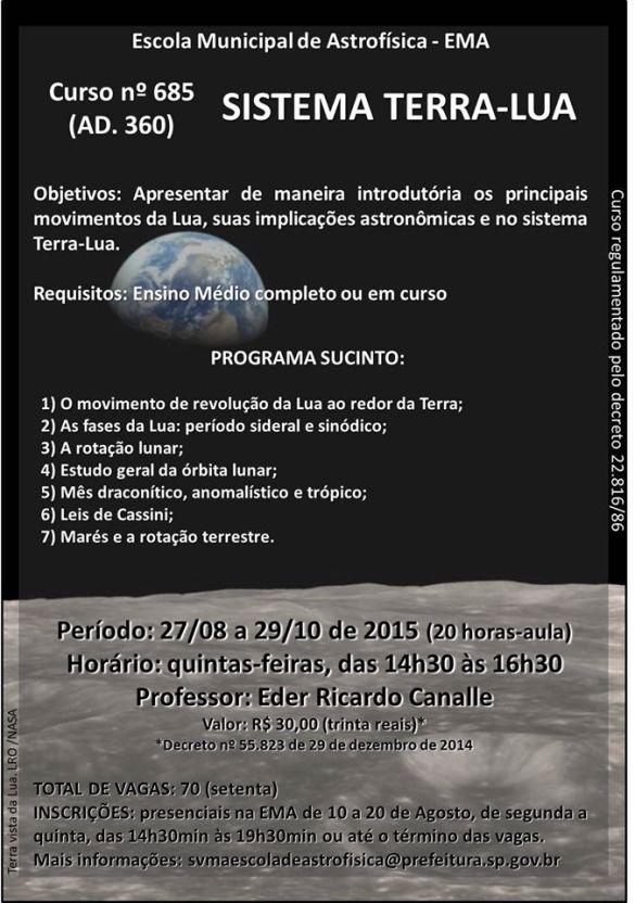Escola de Astrofísica abre inscrições para os cursos do 2º semestre