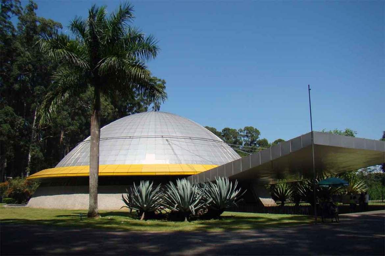 Planetário do Ibirapuera. Foto Rodrigo Soldon (cc)