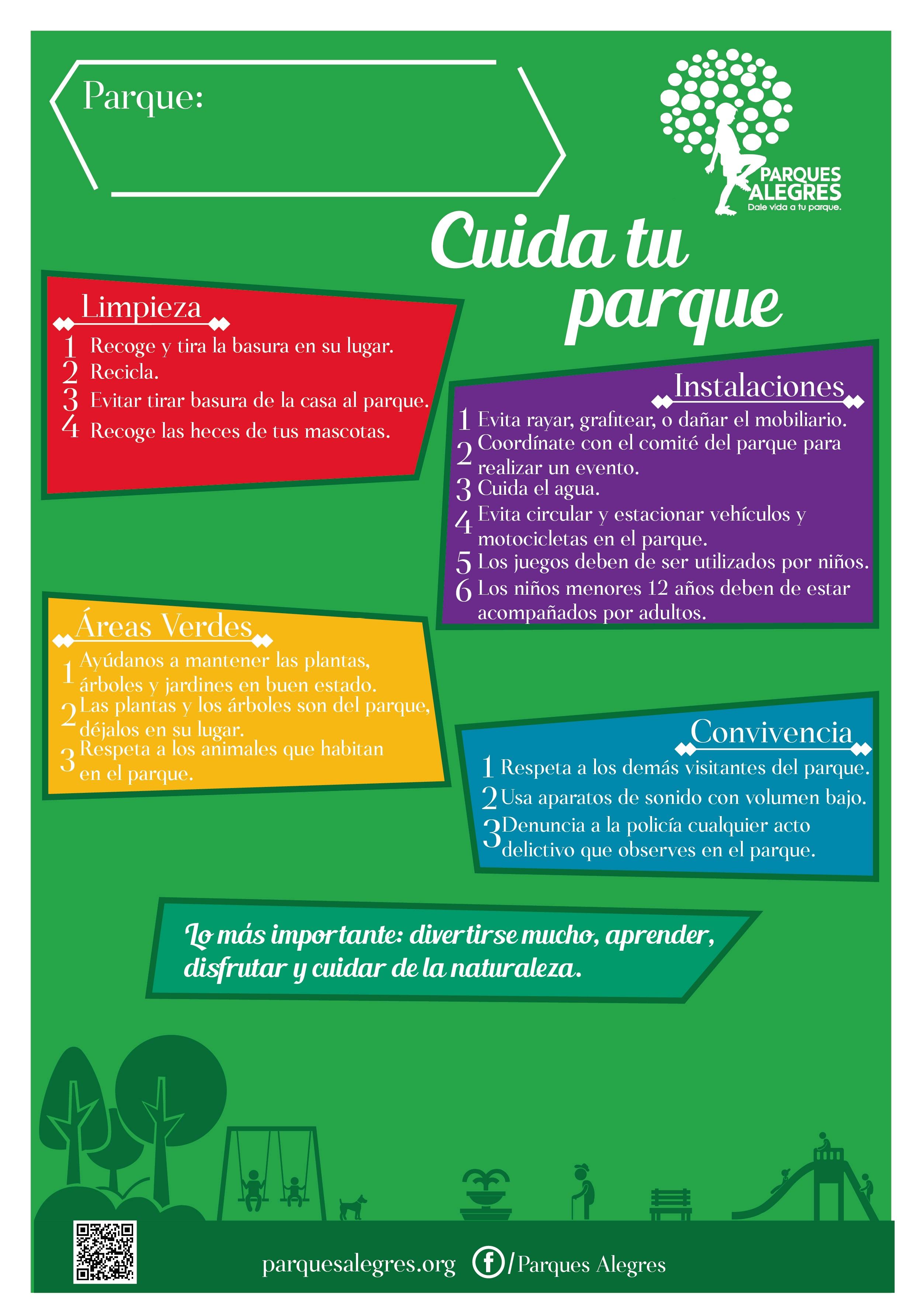 Reglamento de parque y espacios pblicos  Parques Alegres