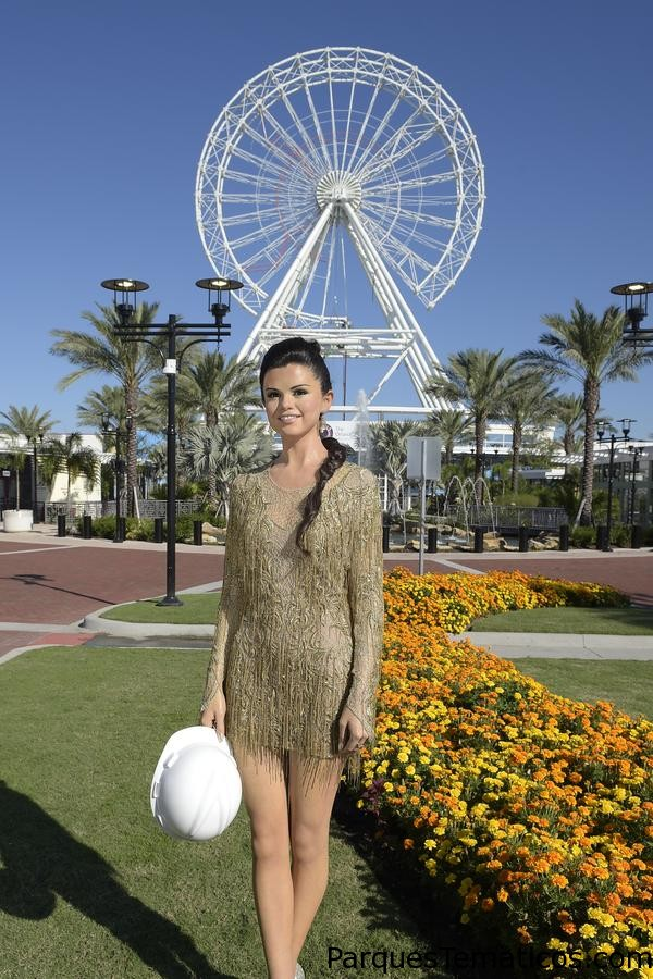 Selena Gomez's wax figure is the first to arrive in Orlando for the future Madame Tussauds on International Drive.