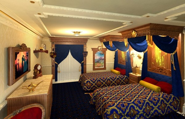 Disney Story Rooms