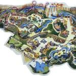 Six_Flags_Texas mapa gratuito