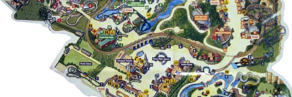 Six_Flags_Texas mapa gratuito